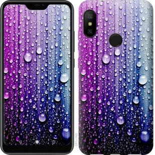 "Чехол на Xiaomi Mi A2 Lite Капли воды ""3351c-1522-19380"""