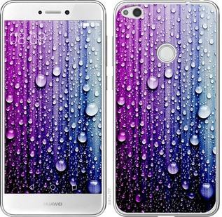 "Чехол на Huawei P8 Lite (2017) Капли воды ""3351c-777-19380"""