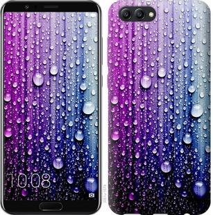 "Чехол на Huawei Honor V10 / View 10 Капли воды ""3351u-1579-19380"""