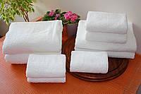Набор белых полотенец пл.500г/м2 (4шт)