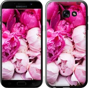 """Чехол на Samsung Galaxy A5 (2017) Розовые пионы """"2747c-444-19380"""""""