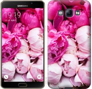 """Чехол на Samsung Galaxy A8 A8000 Розовые пионы """"2747u-135-19380"""""""