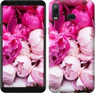 "Чехол на Samsung Galaxy A6s Розовые пионы ""2747u-1604-19380"""