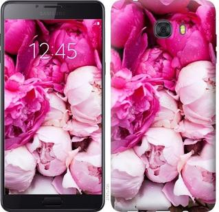 """Чехол на Samsung Galaxy C9 Pro Розовые пионы """"2747u-720-19380"""""""