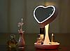 Дзеркало-нічник 3DTOYSLAMP Miror Heart Рожеве