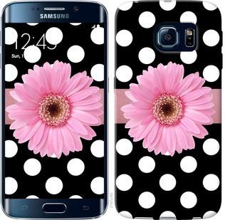 "Чехол на Samsung Galaxy S6 Edge G925F Горошек 2 ""2147c-83-19380"""