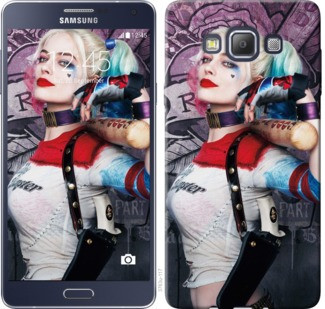 "Чехол на Samsung Galaxy A7 A700H Отряд самоубийц ""3763c-117-19380"""