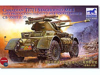 Canadian T17E1 Staghound Mk.I (Late Production with 60LB Rocket Launchers) 1/35 BRONCO MODELS 35017