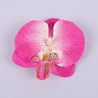 Головка орхидеи малиновая 7 см Цветы искусственные