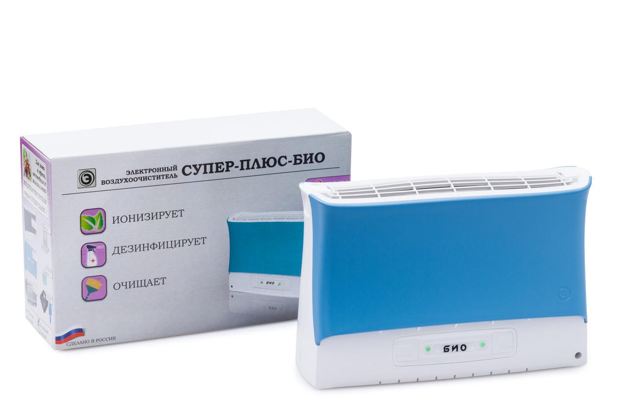 Очиститель ионизатор воздуха Супер Плюс Био голубой