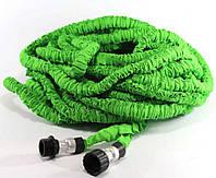 Поливочный шланг Икс-Хоз Xhose 30 м. Magic Hose зелёный - для огорода, сада и дачи