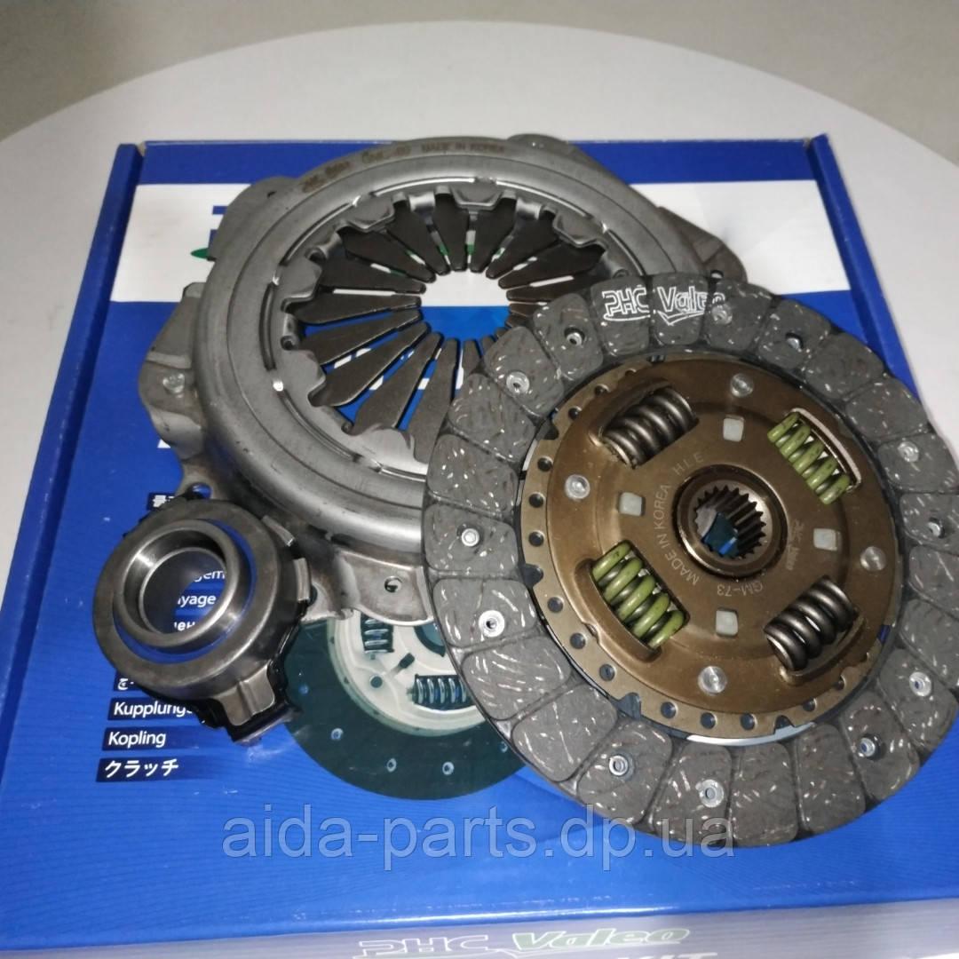 Комплект зчеплення Сенс Sens, Таврія, Славута (диск+корзина+підшипник) (96080294) GMK-057 (пр-во Valeo PHC)