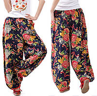 Женские штаны Бохо стиль