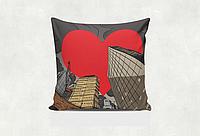 """Подушка """"Большое сердце"""""""