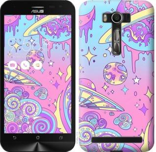 """Чехол на Asus ZenFone 2 Laser ZE500KL Розовая галактика """"4146c-113-19380"""""""