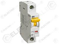 MVA41-1-050-C Защитный выключатель 50А  IEK ВА47-60 1Р, С, 6кА