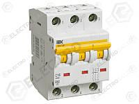 MVA41-3-050-C Защитный выключатель 50А  IEK ВА47-60 3Р, С, 6кА