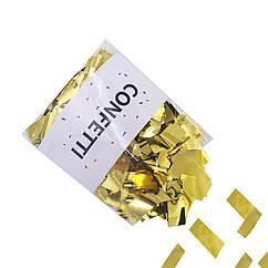 Метафан Конфетти фольгированное золото 50 г