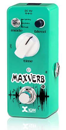 XVIVE D1 MAXVERB Напольная педаль эффектов для электрогитары цифровая Ревербератор, фото 2