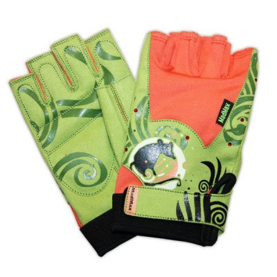 Женские перчатки для фитнеса и бодибилдинга MadMax Rats Swarovski MFG 730