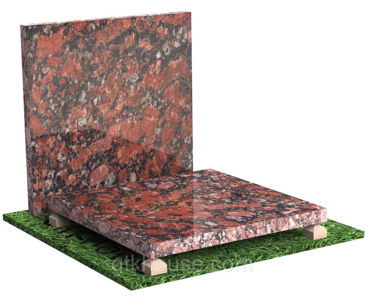 Плитка полірована гранітна Капустинська