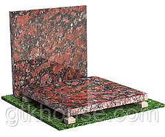 Плитка гранитная полированная Капустинская