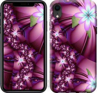 """Чехол на iPhone XR Цветочная мозаика """"1961c-1560-19380"""""""