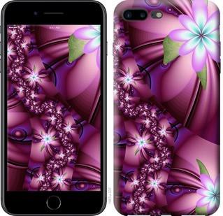"""Чехол на iPhone 8 Plus Цветочная мозаика """"1961c-1032-19380"""""""