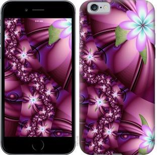 """Чехол на iPhone 6 Цветочная мозаика """"1961c-45-19380"""""""