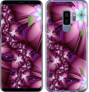 "Чехол на Samsung Galaxy S9 Plus Цветочная мозаика ""1961c-1365-19380"""