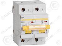 MVA40-2-032-C Вводный автомат 32А  IEK ВА47-100 2Р, С, 10кА