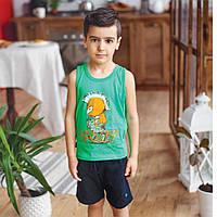 Летний костюм для мальчика KS-19-15-1 *Пересечение эпох*