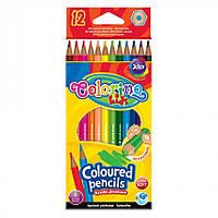 Карандаши цветные Colorino 12 цветов (14687PTR/1)