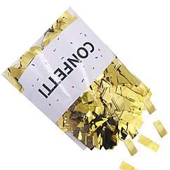 Метафан Конфетти фольгированные золото 250 г