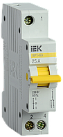 Переключатель ввода трехпозиционный 25А  1Р ВРТ-63   IEK