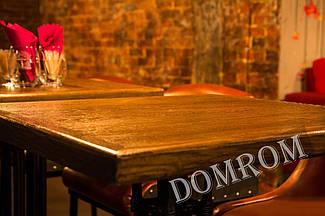 Столешница для стола из дерева в ресторан, кафе, бар HoReCa