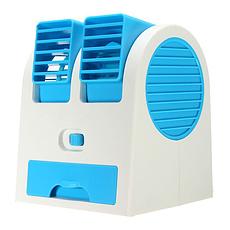 Мини кондиционер USB голубой, фото 2