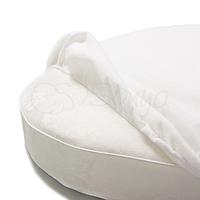 Наматрасник непромокаемый в круглую кроватку 70х70 Маленькая Соня(Sonya) Украина белый 770032