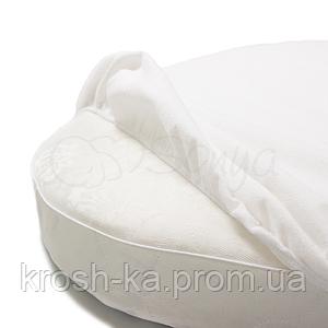 Наматрасник непромокаемый в круглую кроватку 60х70 Маленькая Соня(Sonya) Украина белый 770032