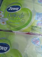 Туалетная бумага ароматизированная-Zewa Deluxe трехслойная 8- рулонов -аромат ромашки АВСТРИЯ