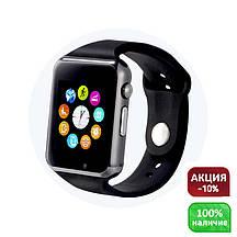 Умные смарт часы Smart watch A1 (поддержка сим-карты, Bluetooth, камера) сенсорные
