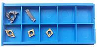 Токарные пластины сменные 5 шт из цементированного карбида с титановым покрытием для резцов 10х10 мм