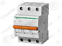 11228 Защитный выключатель 50А  Schneider Electric ВА63 3П, C