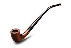 Трубка для курения KAF233 Churchwarden с длинным мундштуком из дерева груши