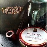 Трубка для курения KAF233 Churchwarden с длинным мундштуком из дерева груши, фото 10