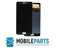 Дисплей Samsung A5 2016 | A510 с сенсорным стеклом Яркость регулируется  (Черный) TFT подсветка ориг
