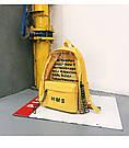 Молодежный рюкзак с прозрачными вставками желтый, фото 2