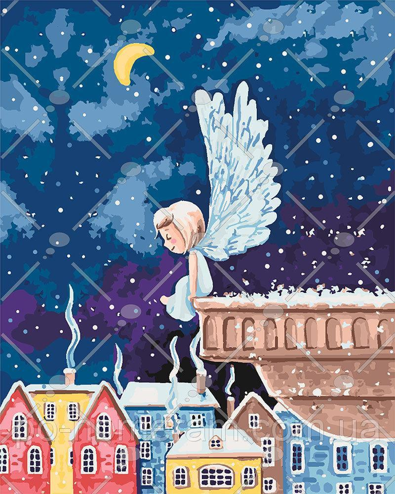 Картина по номерам Ангелочек 40 х 50 см (KH2332)