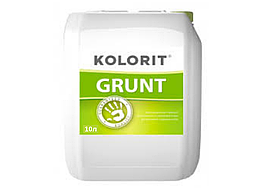 Укрепляющий грунт глубокого проникновения Kolorit Grund 10л