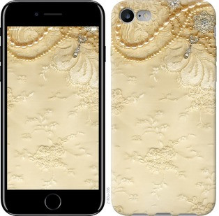 """Чехол на iPhone 8 Кружевной орнамент """"2160c-1031-19380"""""""